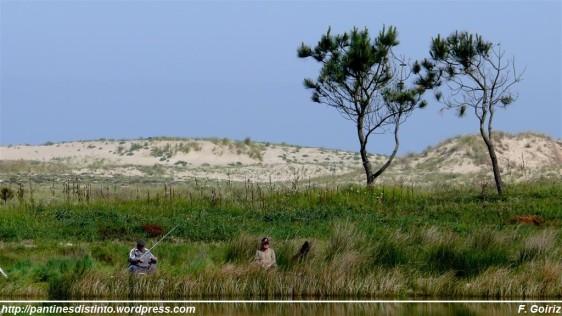 Pescadores - Laguna de A Frouxeira - F. Goiriz 20-05-09
