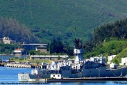 Base naval de La Graña- Al fondo castillo de La Palma - F. Goiriz (Large)