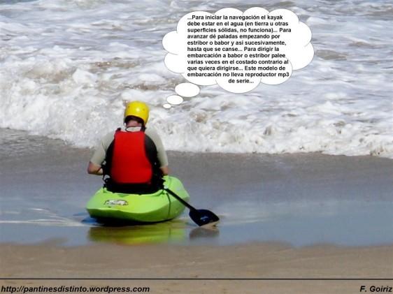 Kayak surf - pantín - F. Goiriz