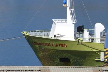 proa del Lehmann Lifter - puerto de Ferrol - F. Goiriz (Large)