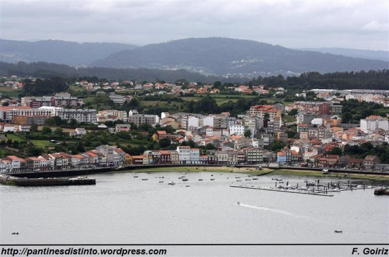 Mugardos  - Vista desde San Felipe (Ferrol) - F. Goiriz