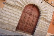 Calle de San Lorenzo del Real - detalle portal - F. Goiriz