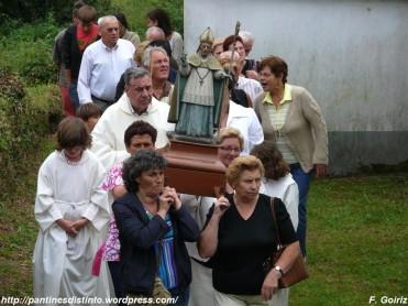 Procesión en honor a San Martiño - Pantín 28-08-2009 - F. Goiriz