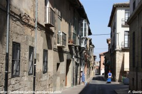 una calle típica - Toro - F. Goiriz