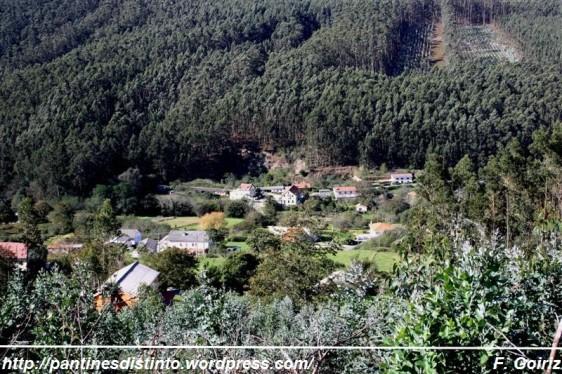 A Ramalleira - Pantín - dende a estrada de Domondo a Loira - F. Goiriz