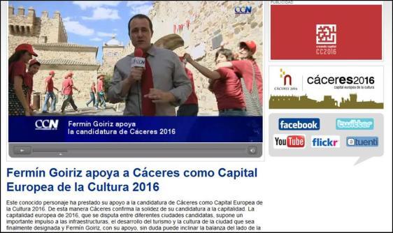 Fermín Goiriz apoya a Cáceres 2016 (Large)