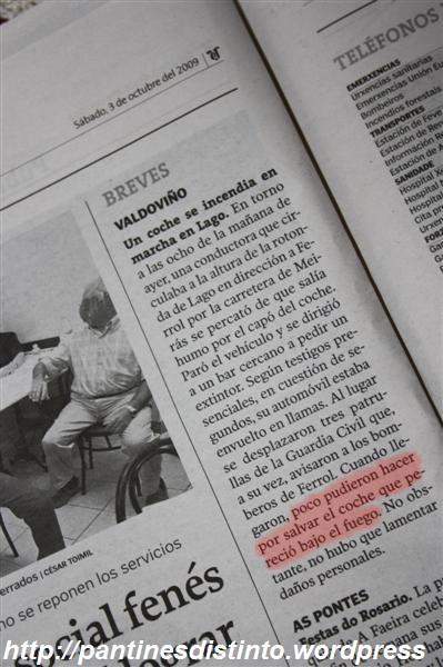 La Voz de Galicia - Edición de Ferrol día 03-10-2009
