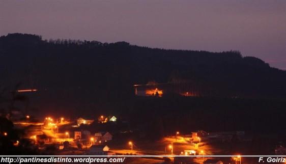 Marnela De Arriba pola noite - Pantín - Foto F. Goiriz