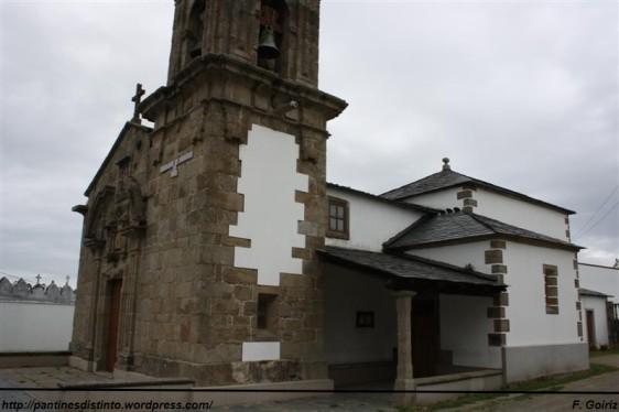 Iglesia de Santiago de Lago (siglo XVIII) - Valdoviño - foto F. Goiriz (4)