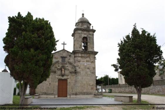 Iglesia de Santiago de Lago (siglo XVIII) - Valdoviño - foto F. Goiriz