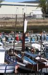 Embarcación histórica - Puerto interior de Ferrol - fotografía por Fermín Goiriz