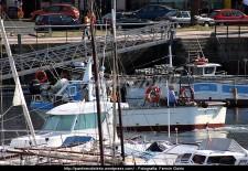 Embarcación RALMAR - puerto interior de Ferrol - fotografía por Fermín Goiriz