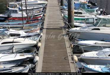 Pantalán puerto interior de Ferrol - fotografía por Fermín Goiriz