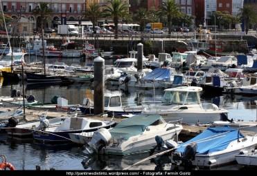 Puerto interior de Ferrol (2) - fotografía por Fermín Goiriz