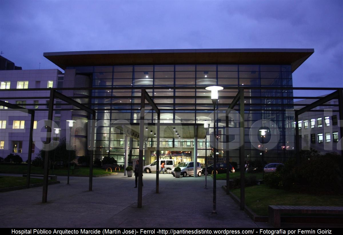 Hospital p blico arquitecto marcide ferrol ferm n - Arquitectos ferrol ...