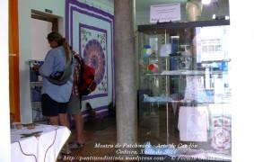 Mostra de Patchwork - arte en Cendón - Cedeira, xullo de 2011 - fotografía por Fermín Goiriz Díaz (2)