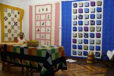 Mostra de Patchwork - arte en Cendón - Cedeira, xullo de 2011 - fotografía por Fermín Goiriz Díaz (4)