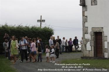 Procesión fiestas de Santiago - Pantín 25 de julio de 2011 - fotografía por Fermín Goiriz Díaz (22)