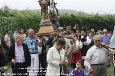 Procesión fiestas de Santiago - Pantín 25 de julio de 2011 - fotografía por Fermín Goiriz Díaz (38)