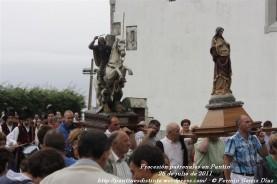 Procesión fiestas de Santiago - Pantín 25 de julio de 2011 - fotografía por Fermín Goiriz Díaz (40)