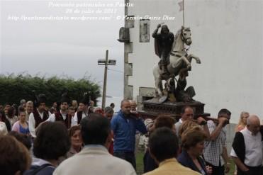 Procesión fiestas de Santiago - Pantín 25 de julio de 2011 - fotografía por Fermín Goiriz Díaz (41)