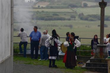 Procesión fiestas de Santiago - Pantín 25 de julio de 2011 - fotografía por Fermín Goiriz Díaz