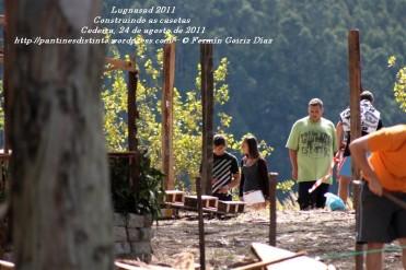 LUGNASAD 2011 - CONSTRUCCIÓN DAS CASETAS DOS CLANS - CEDEIRA 24 DE AGOSTO DE 2011 - FOTOGRAFÍA POR FERMÍN GOIRIZ DÍAZ (10)