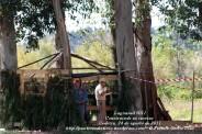LUGNASAD 2011 - CONSTRUCCIÓN DAS CASETAS DOS CLANS - CEDEIRA 24 DE AGOSTO DE 2011 - FOTOGRAFÍA POR FERMÍN GOIRIZ DÍAZ (4)