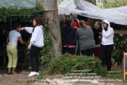 LUGNASAS 2011 - CONSTRUCCIÓN DAS CASETAS DOS CLANS - CEDEIRA 25 DE AGOSTO DE 2011 - fotografía por Fermín Goiriz Díaz (2)