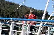 Pesquero de Cedeira INMACULADA ZARPANDO PARA LA COSTERA DEL BONITO - Cedeira, 31 de julio de 2011 - Galicia - fotografía por Fermín Goiriz Díaz (7)