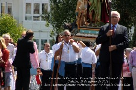 Procesión da Patrona - Pocesión de la virgen del Mar - Cedeira, 15 de Agosoto de 2011 - fotografía por Fermín Goiriz Díaz (11)
