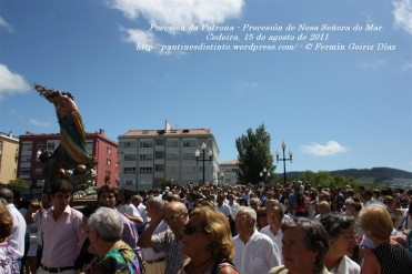 Procesión da Patrona - Pocesión de la virgen del Mar - Cedeira, 15 de Agosoto de 2011 - fotografía por Fermín Goiriz Díaz (32)