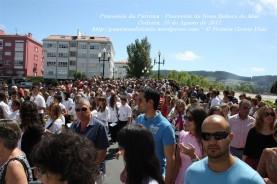 Procesión da Patrona - Pocesión de la virgen del Mar - Cedeira, 15 de Agosoto de 2011 - fotografía por Fermín Goiriz Díaz (34)