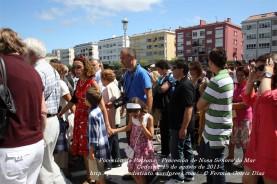 Procesión da Patrona - Pocesión de la virgen del Mar - Cedeira, 15 de Agosoto de 2011 - fotografía por Fermín Goiriz Díaz (39)