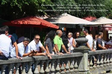 Procesión da Patrona - Pocesión de la virgen del Mar - Cedeira, 15 de Agosoto de 2011 - fotografía por Fermín Goiriz Díaz
