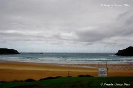 Panorámica de la playa de O Rodo - panorámica de la playa de Pantín (Valdoviño) fotografía por Fermín Goiriz Díaz