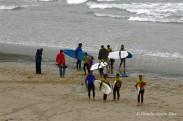 Surfeiros - Surfers - Surferos - Playa de Pantín (Valdoviño) - Galicia - fotografía por Fermín Goiriz Díaz (2)