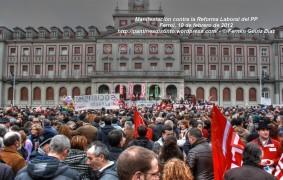 20.000 manifestantes contra la reforma laboral en Ferrol - fotografía por Fermín Goiriz Díaz