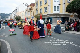 Desfile de Carnaval en Cedeira, 18 de febrero de 2012 - Carnaval Cedeira 2012 - Galicia -fotografía por Fermín Goiriz Díaz (73)