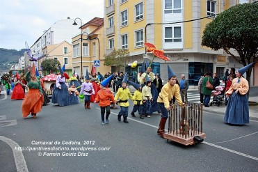 Desfile de Carnaval en Cedeira, 18 de febrero de 2012 - Carnaval Cedeira 2012 - Galicia -fotografía por Fermín Goiriz Díaz (77)