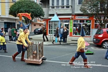 Desfile de Carnaval en Cedeira, 18 de febrero de 2012 - Carnaval Cedeira 2012 - Galicia -fotografía por Fermín Goiriz Díaz (78)