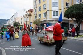 Desfile de Carnaval en Cedeira, 18 de febrero de 2012 - Carnaval Cedeira 2012 - Galicia -fotografía por Fermín Goiriz Díaz (84)