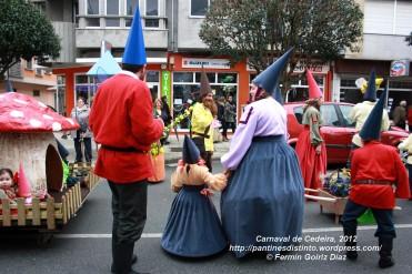 Desfile de Carnaval en Cedeira, 18 de febrero de 2012 - Carnaval Cedeira 2012 - Galicia -fotografía por Fermín Goiriz Díaz (88)