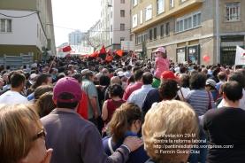 Fotografías manifestación 29-M en Ferrol - +40.000 manifestantes - Ferrolterra - contra la reforma laboral del PP - Fotografía por Fermín Goiriz Díaz (17)