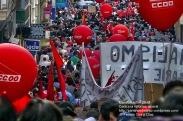 Fotografías manifestación 29-M en Ferrol - +40.000 manifestantes - Ferrolterra - contra la reforma laboral del PP - Fotografía por Fermín Goiriz Díaz (18)