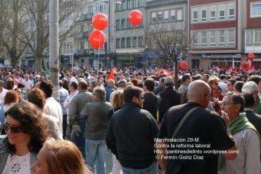 Fotografías manifestación 29-M en Ferrol - +40.000 manifestantes - Ferrolterra - contra la reforma laboral del PP - Fotografía por Fermín Goiriz Díaz (2)