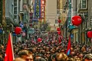 Fotografías manifestación 29-M en Ferrol - +40.000 manifestantes - Ferrolterra - contra la reforma laboral del PP - Fotografía por Fermín Goiriz Díaz (21)