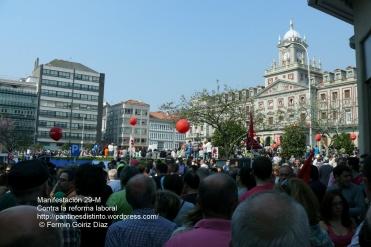 Fotografías manifestación 29-M en Ferrol - +40.000 manifestantes - Ferrolterra - contra la reforma laboral del PP - Fotografía por Fermín Goiriz Díaz (24)