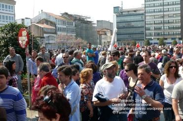 Fotografías manifestación 29-M en Ferrol - +40.000 manifestantes - Ferrolterra - contra la reforma laboral del PP - Fotografía por Fermín Goiriz Díaz (31)