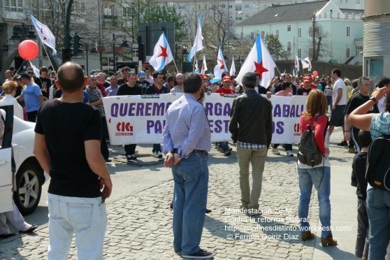 Fotografías manifestación 29-M en Ferrol - +40.000 manifestantes - Ferrolterra - contra la reforma laboral del PP - Fotografía por Fermín Goiriz Díaz (37)